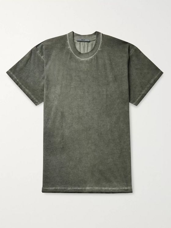 BILLY Joseph Garment-Dyed Cotton-Jersey T-Shirt