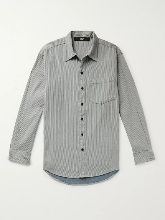 BILLY Striped Cotton Shirt