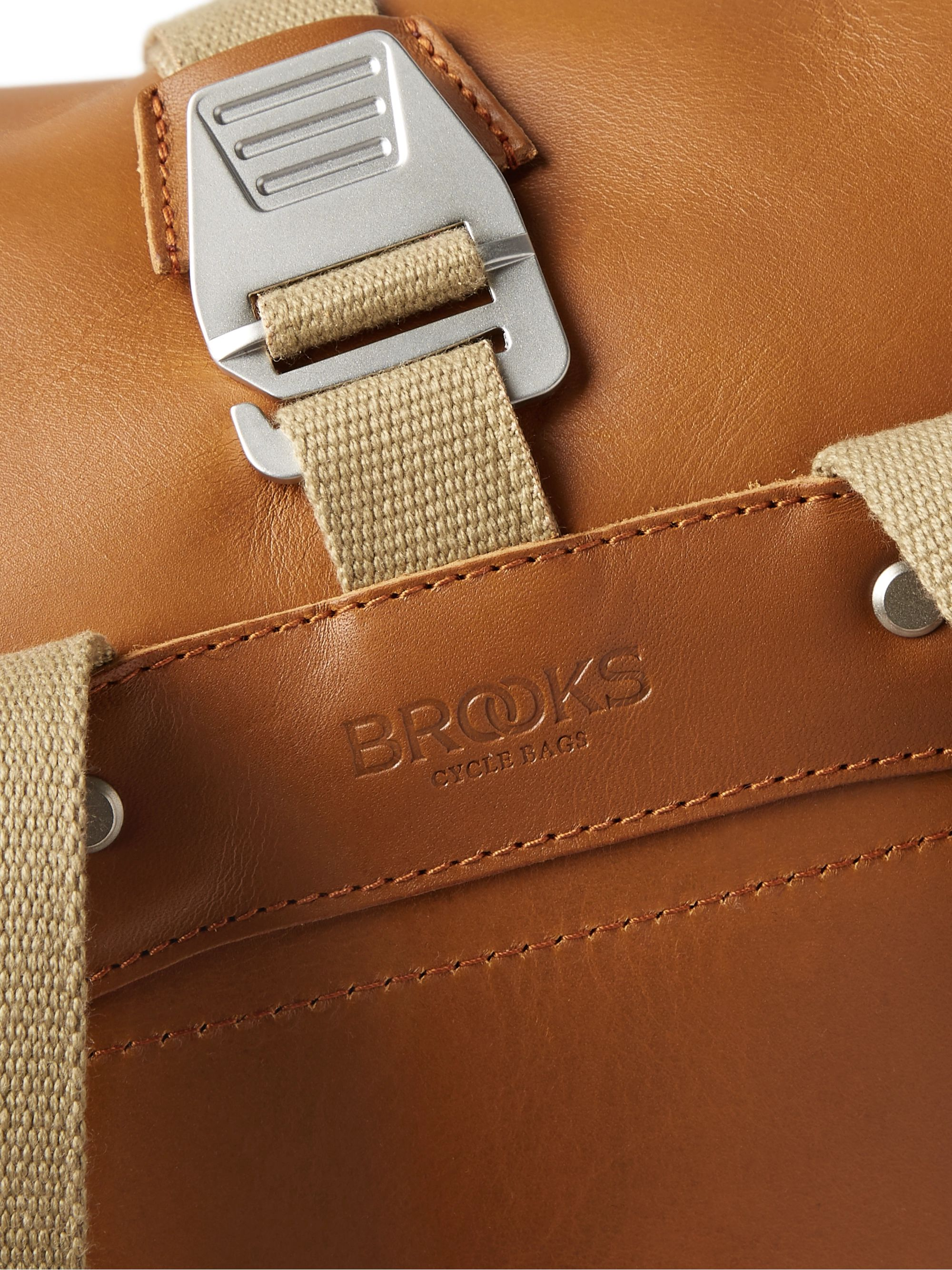 Brooks England Pickwick Small Leather Backpack