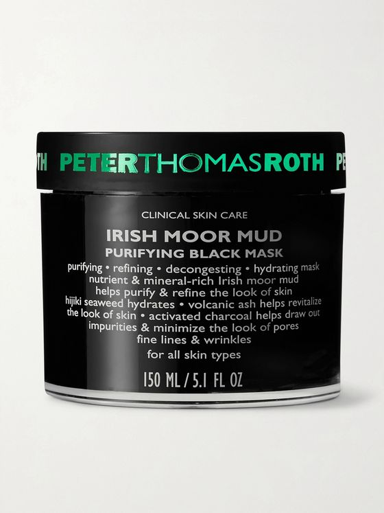 PETER THOMAS ROTH Irish Moor Mud Purifying Black Mask, 150ml