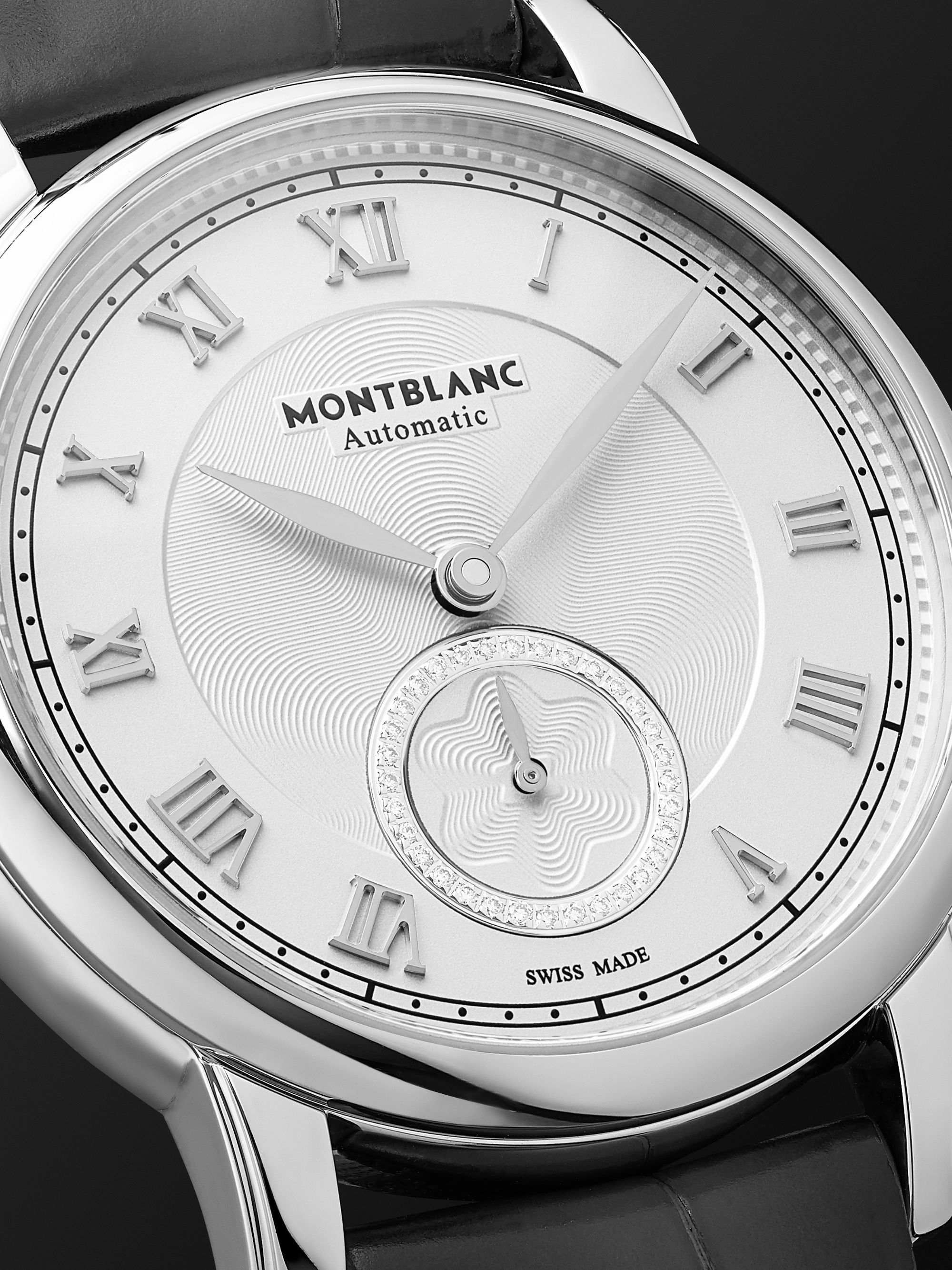 MONTBLANC Star Legacy Automatic 36mm Stainless Steel and Alligator Watch, Ref. No. 126110