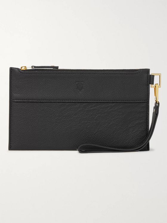 MONTROI Full-Grain Leather Pouch