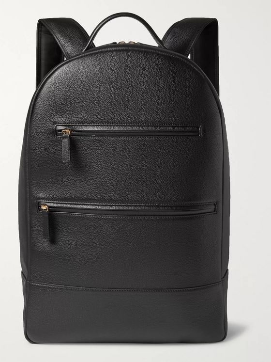 MONTROI Full-Grain Leather Backpack