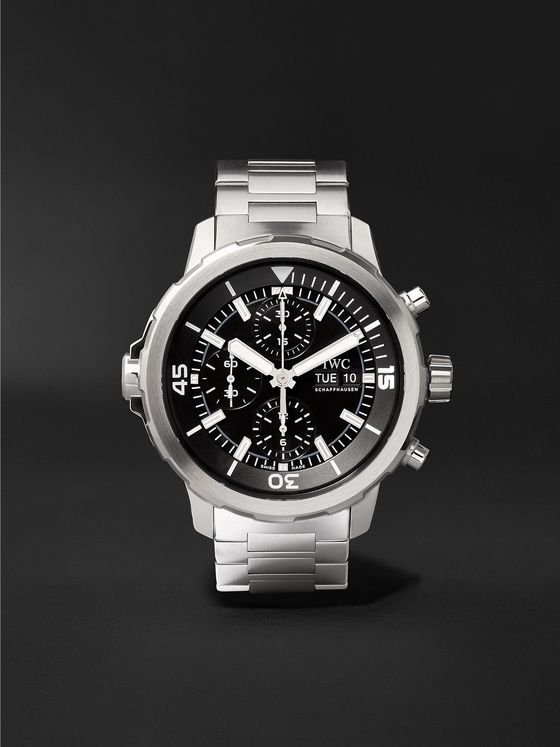 IWC SCHAFFHAUSEN Aquatimer Automatic Chronograph 44mm Stainless Steel Watch, Ref. No. IW376804