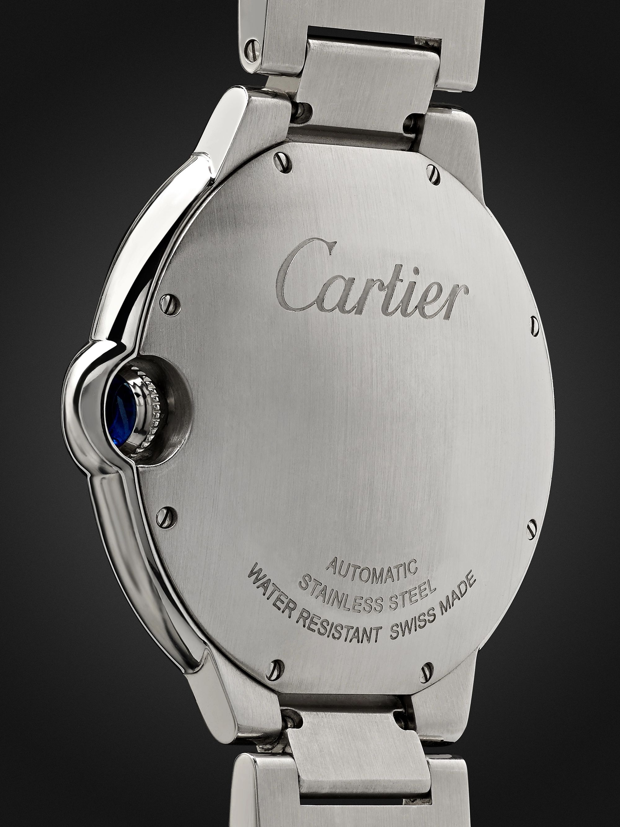 CARTIER Ballon Bleu de Cartier Automatic 42mm Stainless Steel Watch, Ref. No. CRW69012Z4