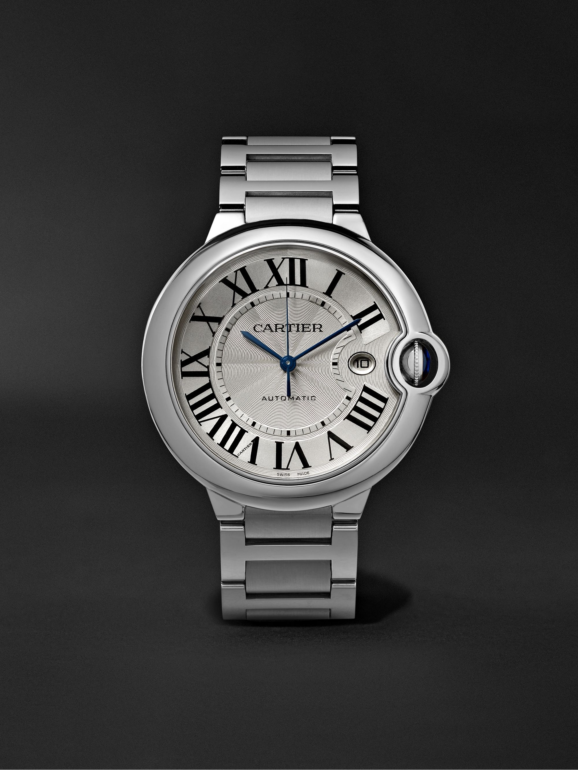 CARTIER Ballon Bleu Automatic 42mm Steel Watch, Ref. No. CRW69012Z4