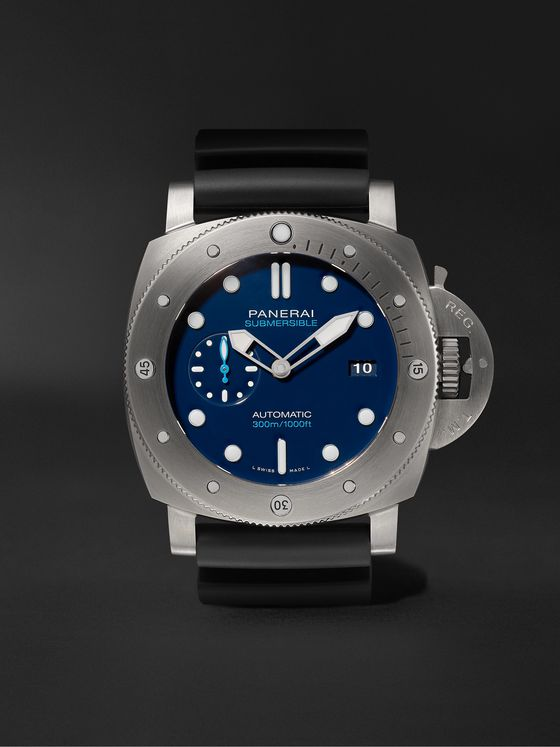 Panerai Submersible Automatic 47mm BMG-TECH and Rubber Watch, Ref. No. PNPAM00692