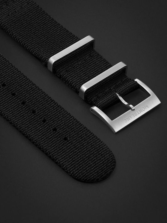Montblanc Summit Nylon Watch Strap