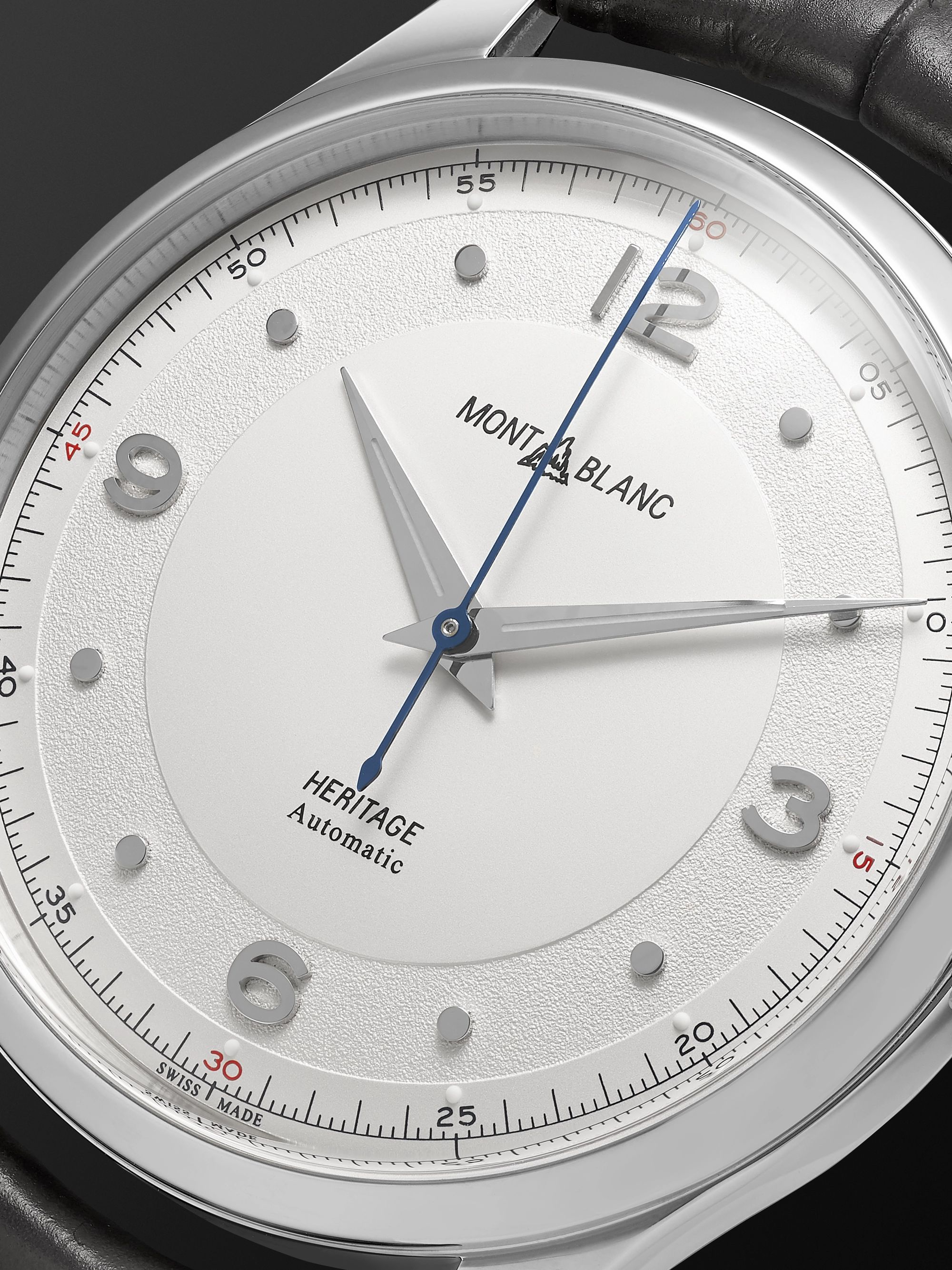 Montblanc Heritage Automatic 40mm Stainless Steel and Alligator Watch, Ref. No. 119943