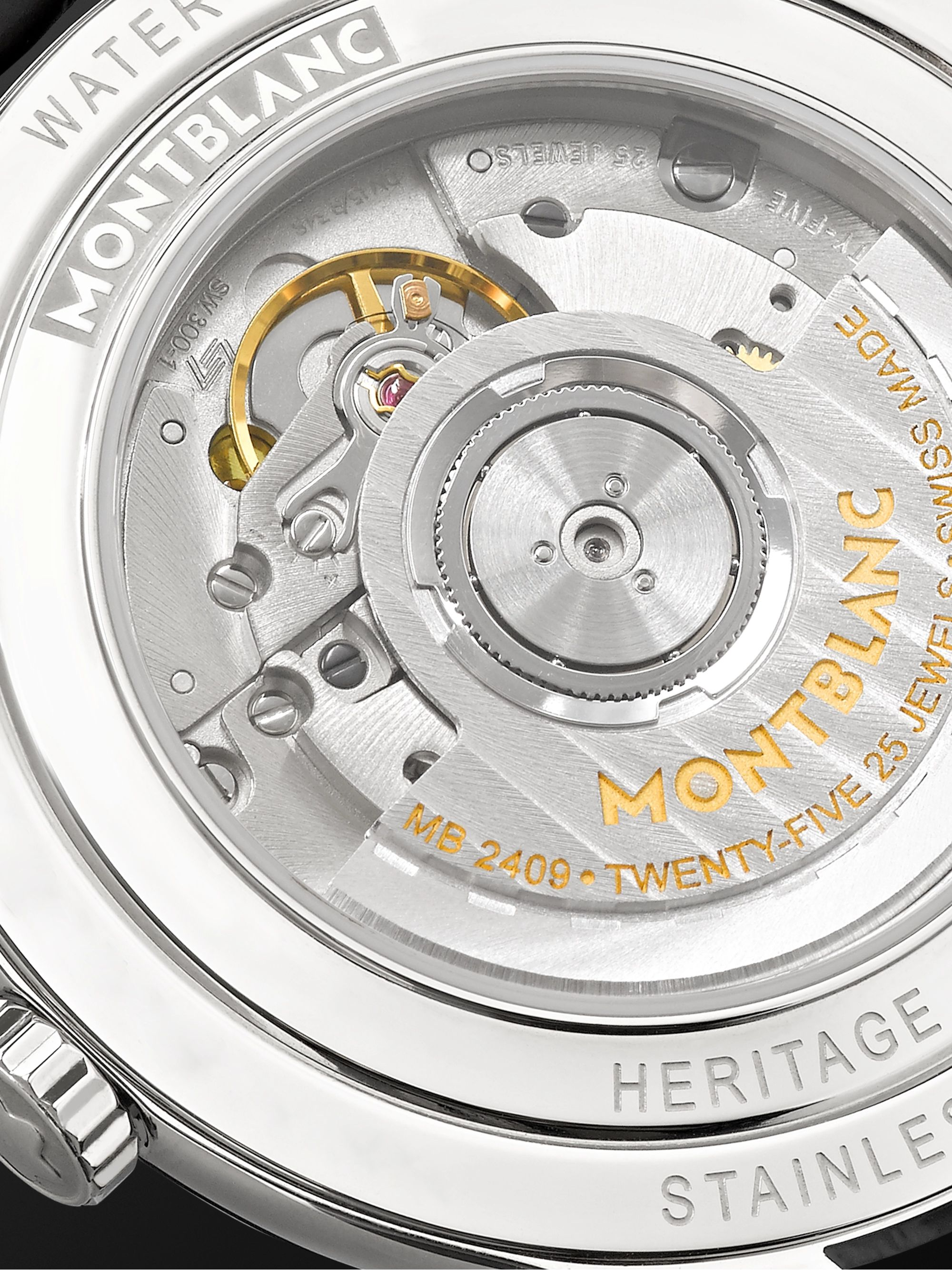Montblanc Heritage Chronométrie Automatic 40mm Stainless Steel and Alligator Watch, Ref. No. 112533