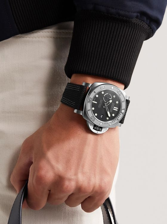 PANERAI Submersible Mike Horn Edition Automatic 47mm Eco-Titanium and PET Watch