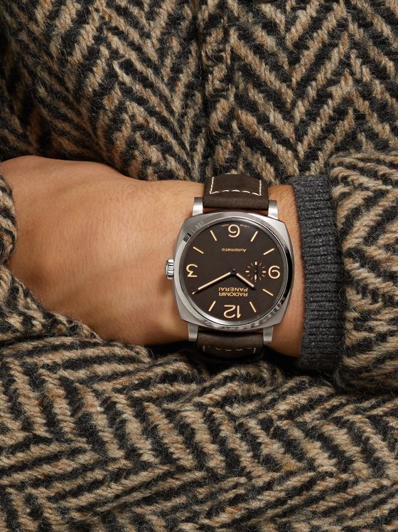 Panerai Radiomir 1940 3 Days Automatic Titanio 45mm Titanium and Leather Watch, Ref. No. PAM00619