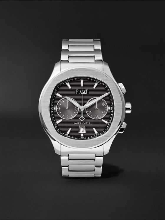 PIAGET Polo S Automatic Chronograph 42mm Stainless Steel Watch, Ref. No. G0A42005