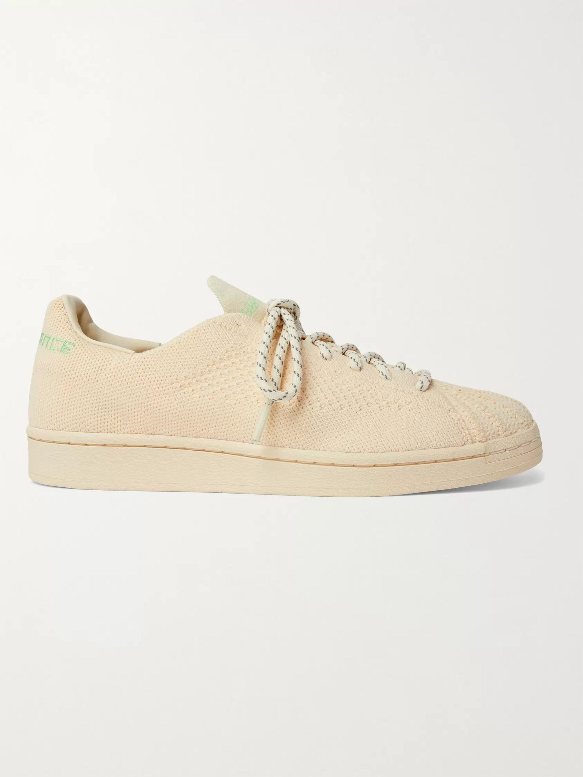 Pharrell Williams Superstar Embroidered Primeknit Sneakers