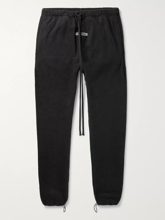 Fear of God Essentials Logo-Appliquéd Fleece Sweatpants