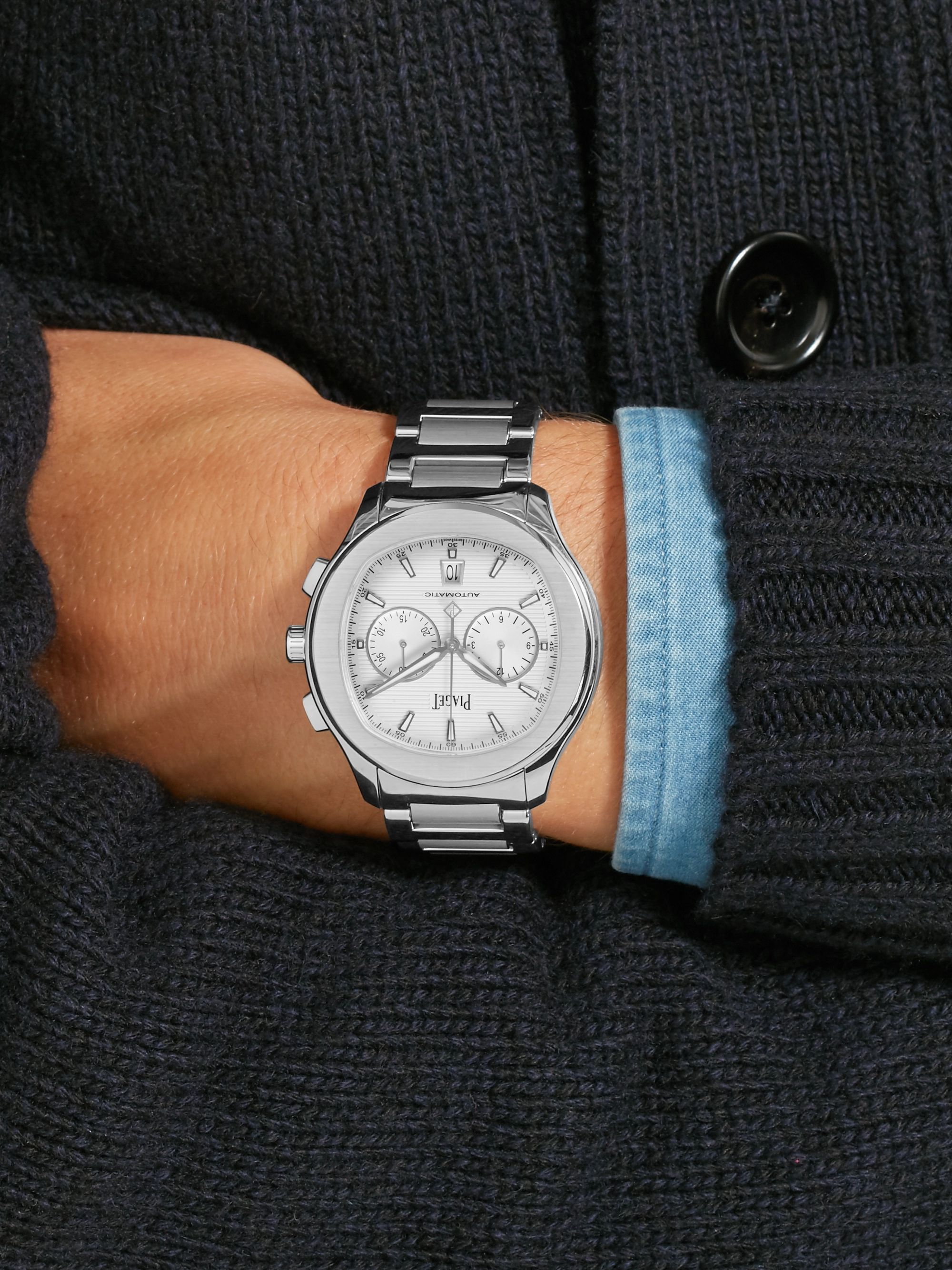 Piaget Polo S Chronograph 42mm Stainless Steel Watch, Ref. No. G0A41004