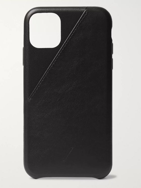 Native Union Clic Card Leather iPhone 11 Case