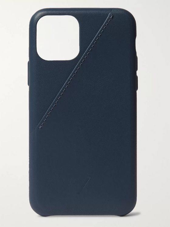 Native Union Clic Card Leather iPhone 11 Pro Case