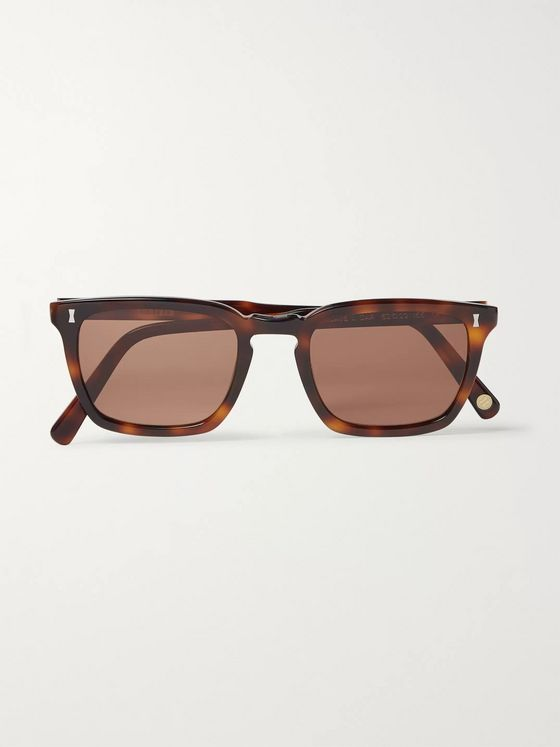 Cubitts Attneave Square-Frame Acetate Sunglasses
