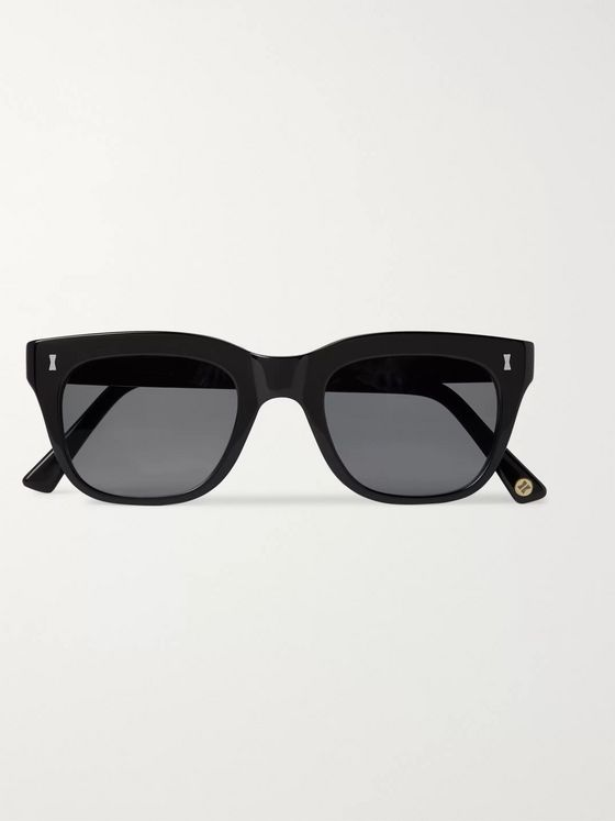 Cubitts Rufford Square-Frame Acetate Sunglasses