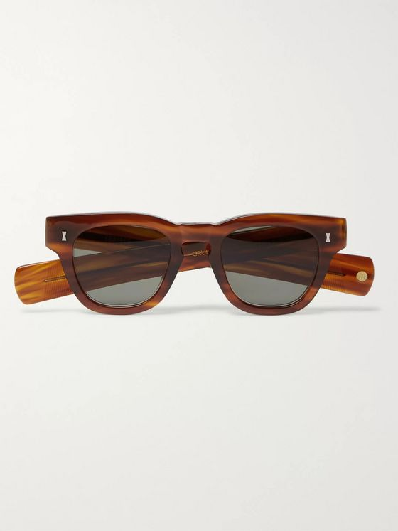 Cubitts Cruikshank Square-Frame Acetate Sunglasses