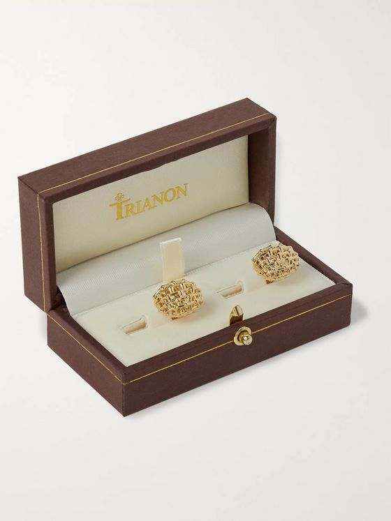 Trianon Lightship Gold Cufflinks