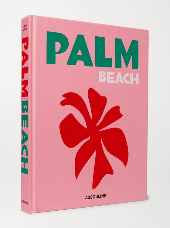 Assouline Palm Beach Hardcover Book