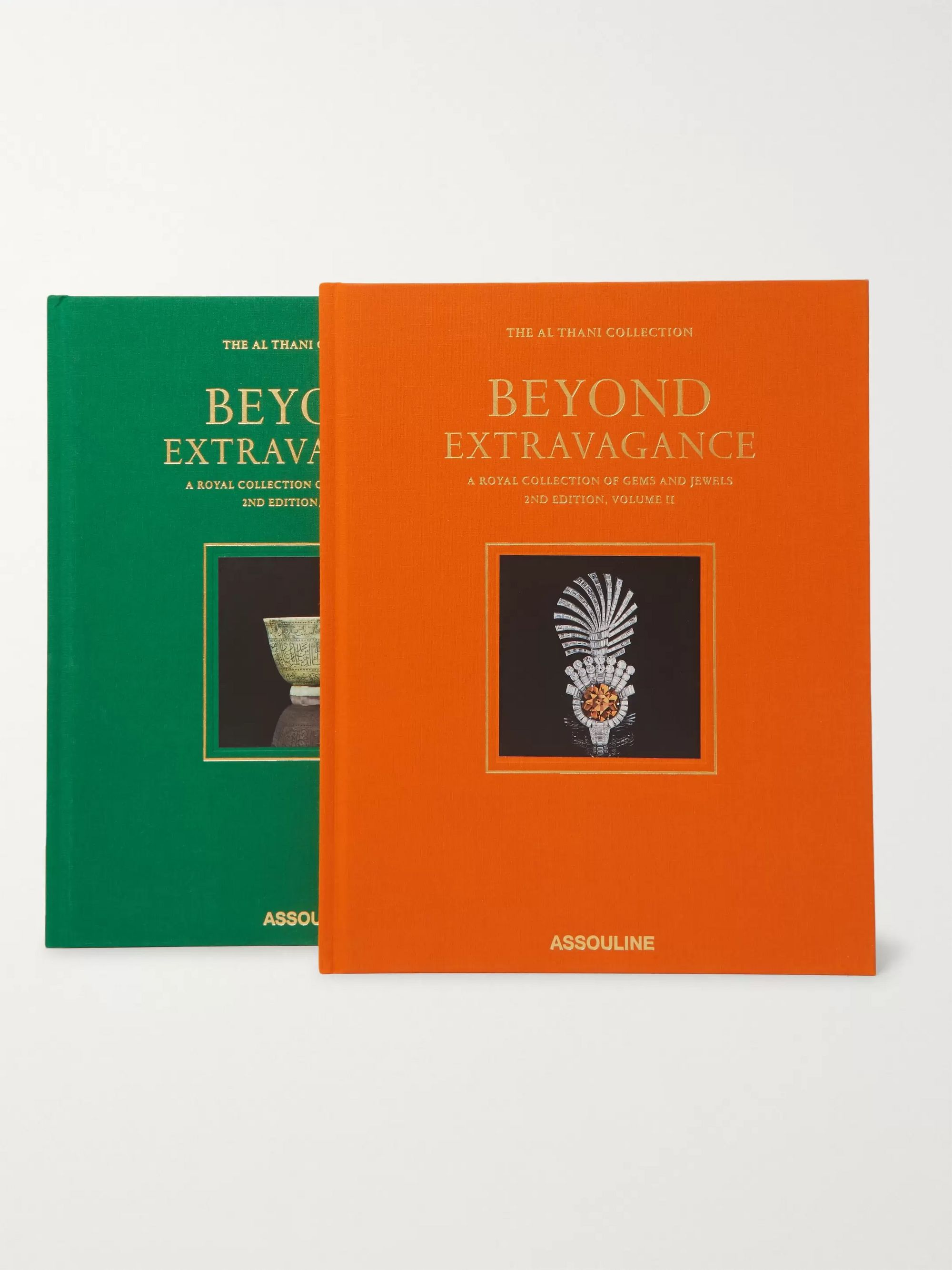Assouline Beyond Extravagance - 2nd Edition Set of Two Hardcover Books