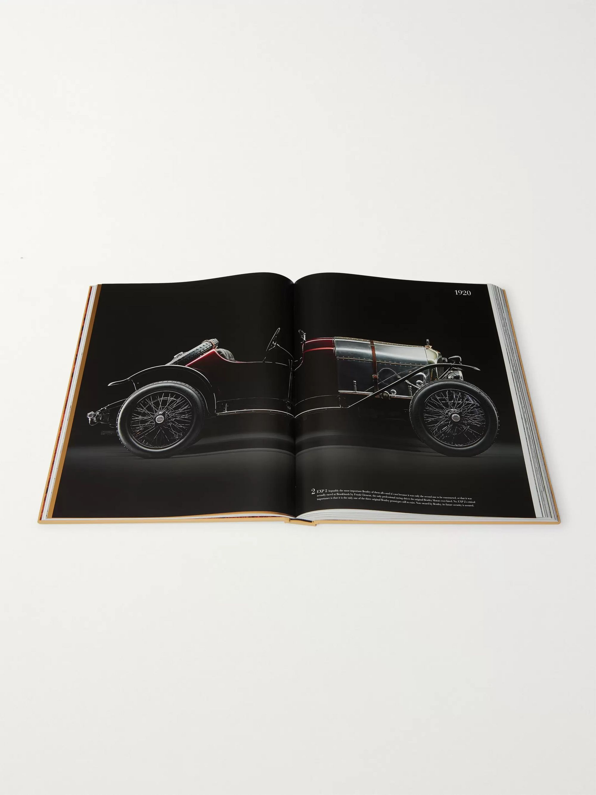 Assouline Bentley: The Impossible Collection Hardcover Book