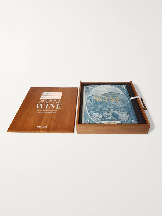Assouline American Wine: The Impossible Collection Hardcover Book