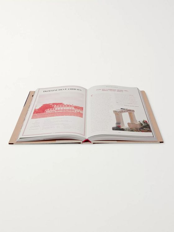 Assouline The 100: Burgundy - Exceptional Wines to Build a Dream Cellar Hardcover Book