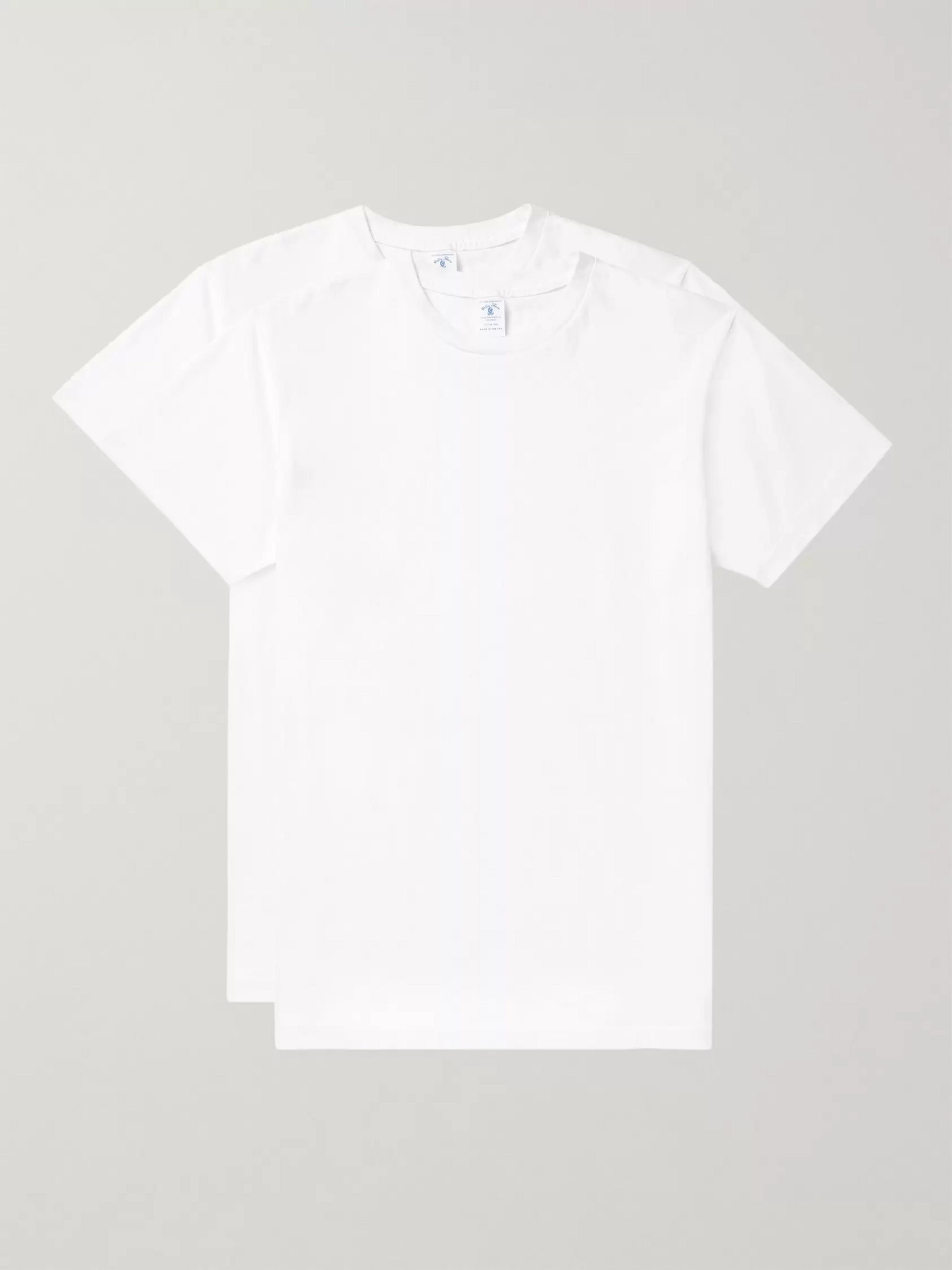 Velva Sheen Two-Pack Cotton-Jersey T-Shirts
