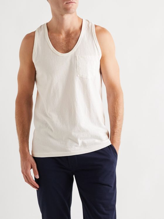 Velva Sheen Two-Pack Cotton-Jersey Tank Tops