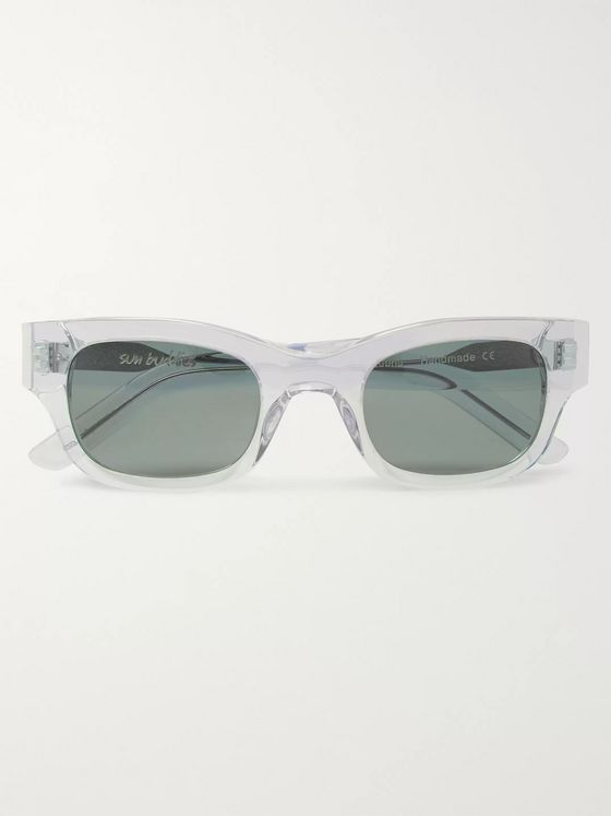 Sun Buddies Lubna Square-Frame Acetate Sunglasses