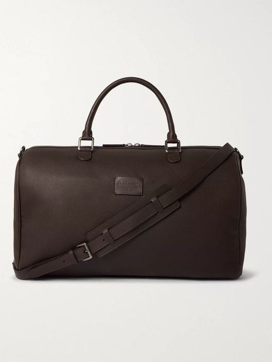Anderson's Full-Grain Leather Holdall