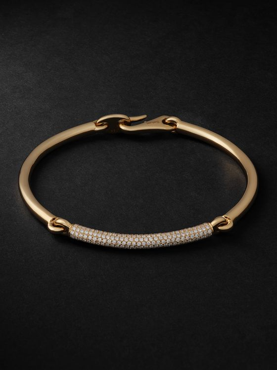 MAOR The Solstice 18-Karat Gold Diamond Bracelet
