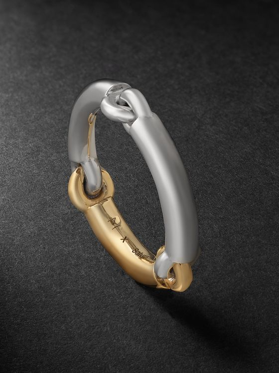 MAOR The Solstice 18-Karat White and Yellow Gold Ring