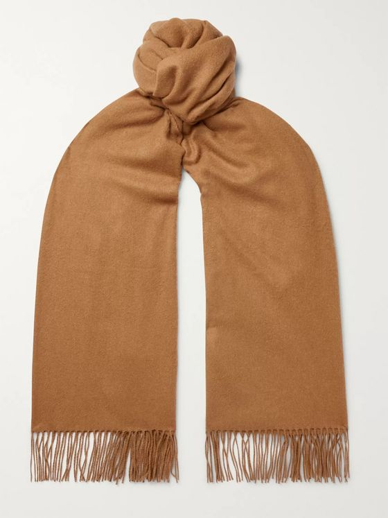 Johnstons of Elgin Fringed Vicuña Scarf