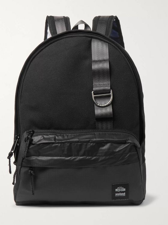Sealand Gear Tombie Cotton-Canvas, Ripstop and Spinnaker Backpack