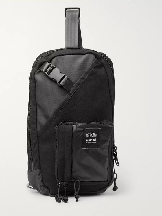Sealand Gear Choco Canvas and Ripstop Backpack