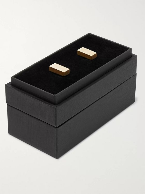 Alice Made This Erno 9-Karat Gold Cufflinks