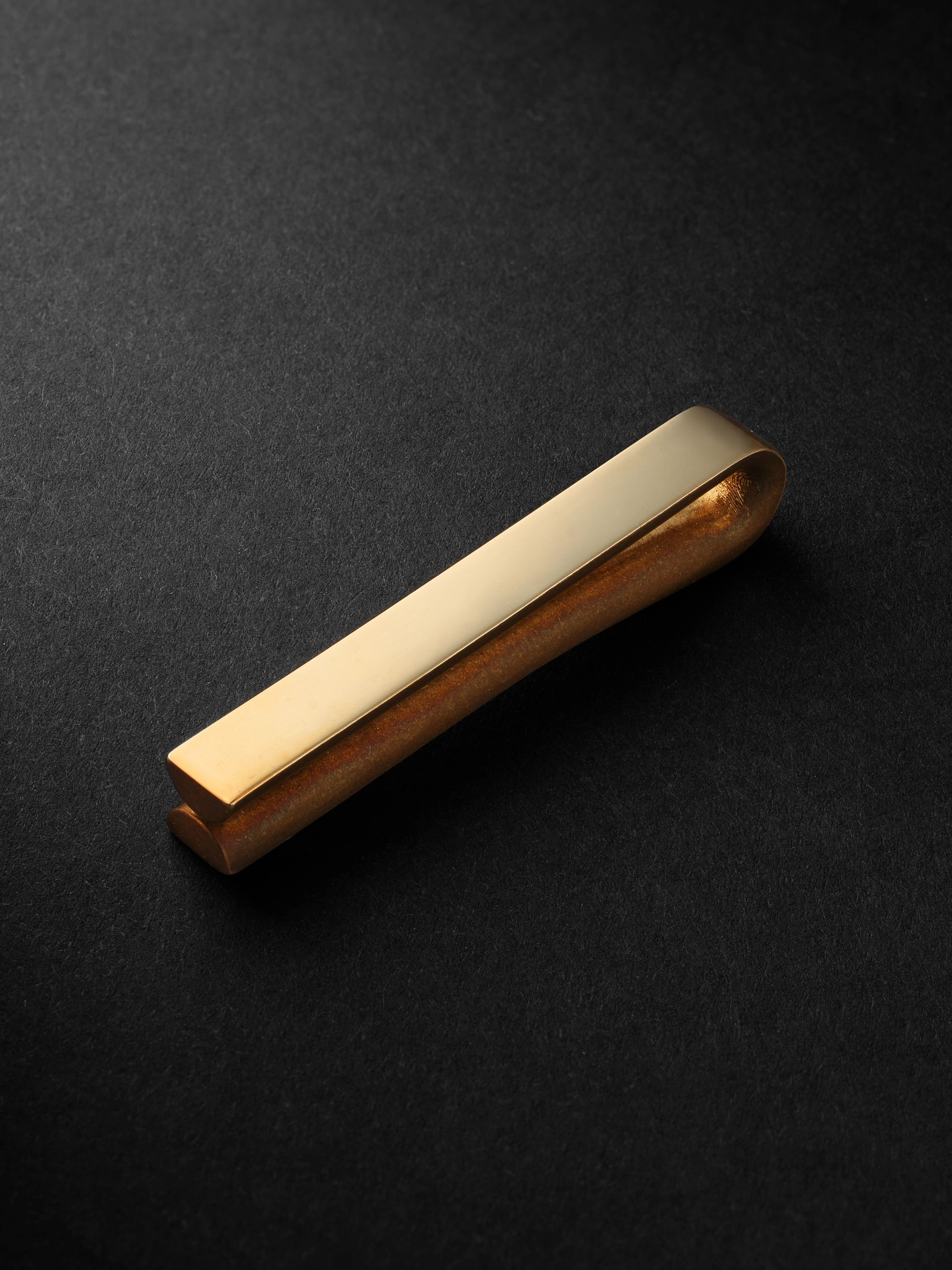 Alice Made This Bancroft 9-Karat Gold Tie Bar