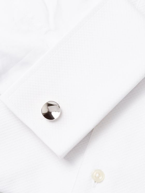 Alice Made This Elliott Rhodium-Plated Cufflinks