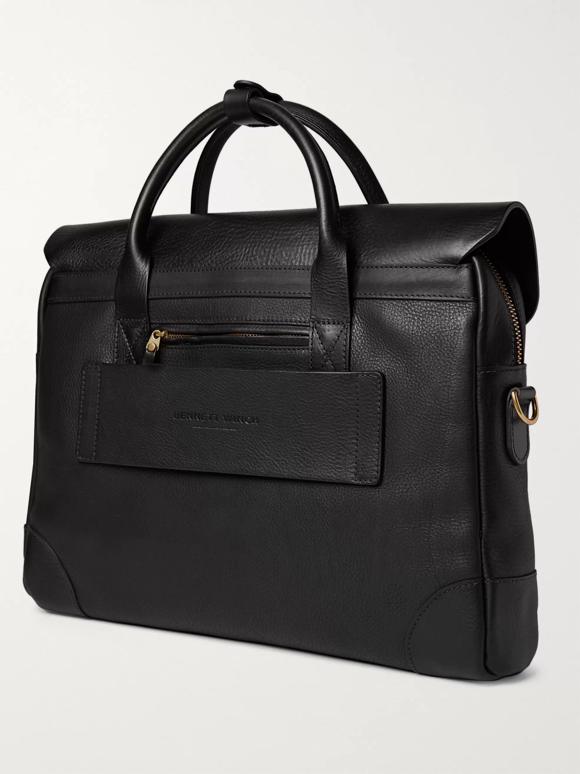 Bennett Winch Full-Grain Leather Briefcase