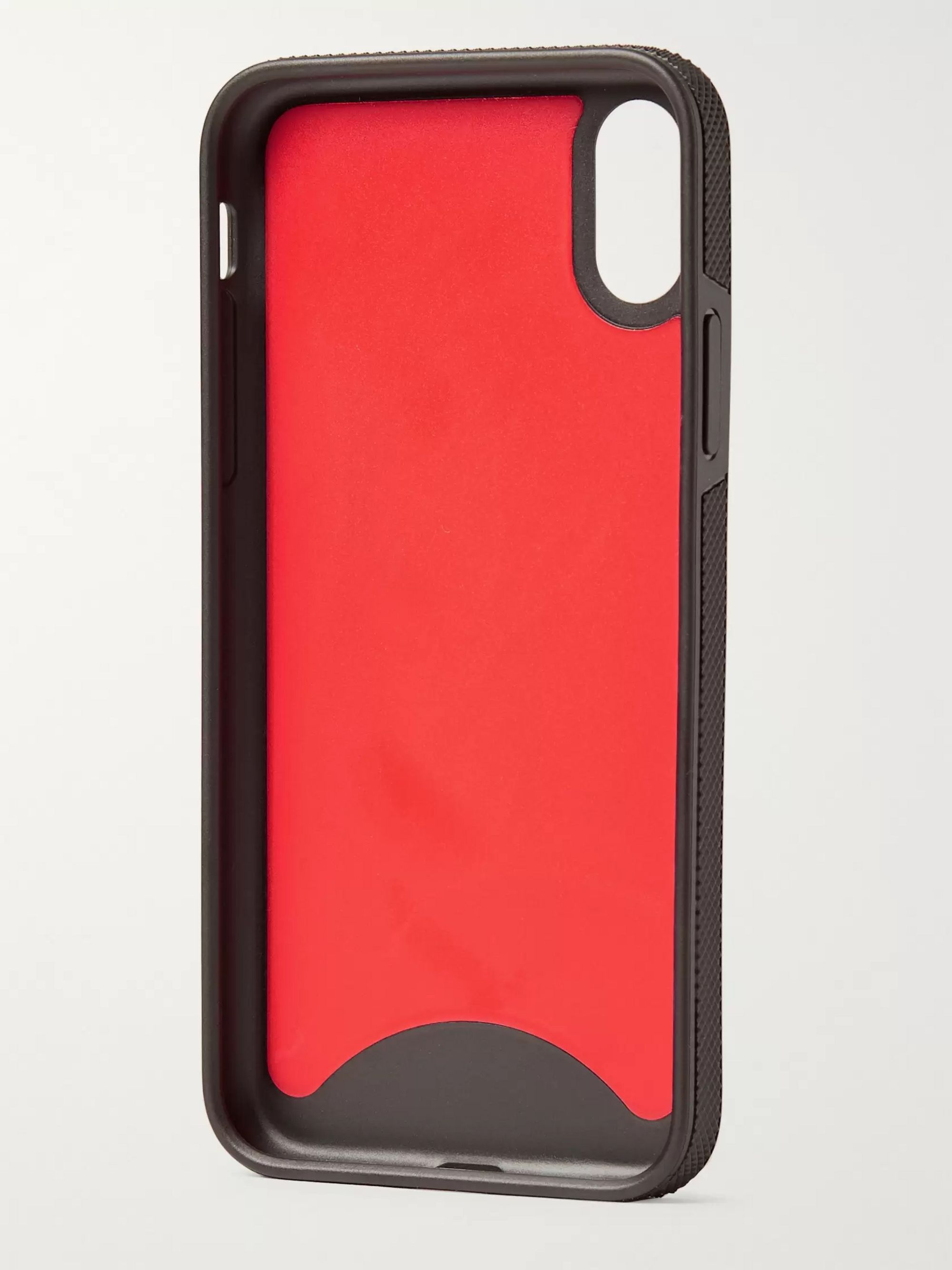Christian Louboutin Loubiphone Logo-Debossed iPhone X and XS case