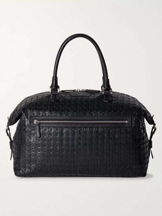 Serapian Mosaico Leather Holdall