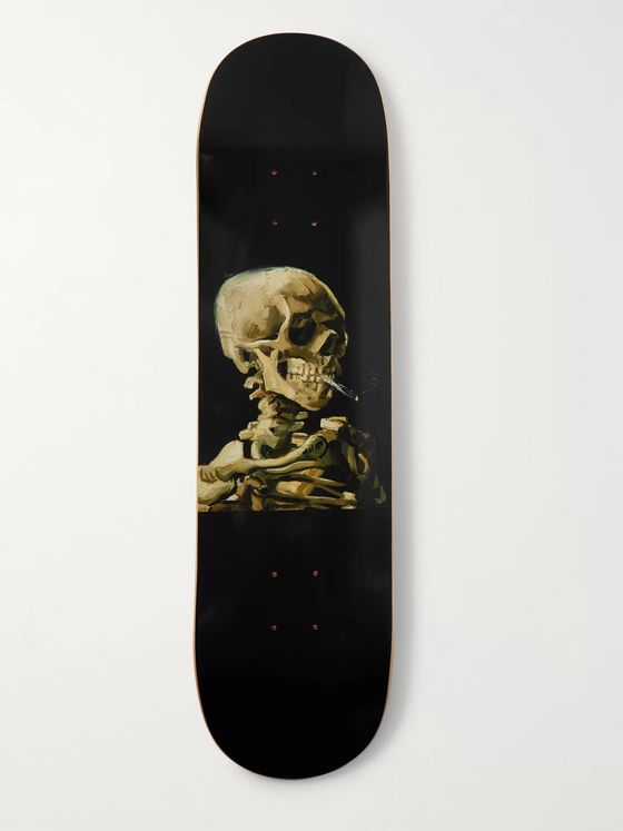 The SkateRoom + Van Gogh Printed Wooden Skateboard