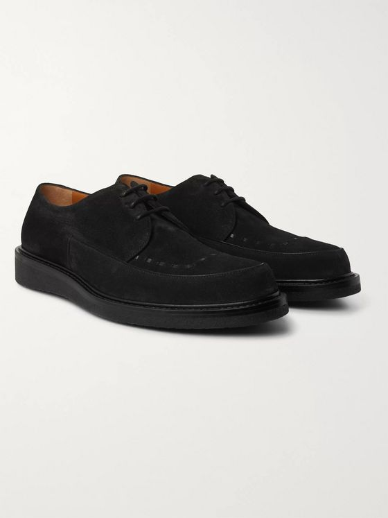 Mr P. Peter Suede Derby Shoes