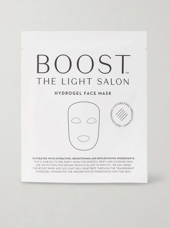 The Light Salon Boost Hydrogel Face Masks, 3 x 28g