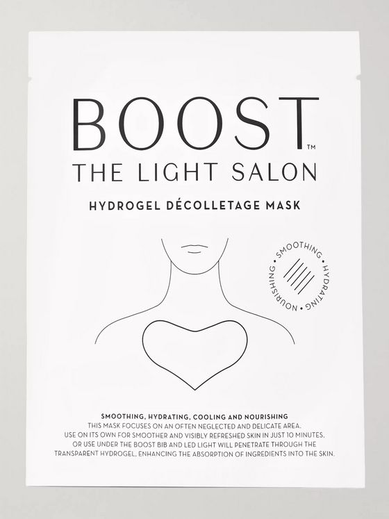 The Light Salon Boost Hydrogel Décolletage Mask x 3
